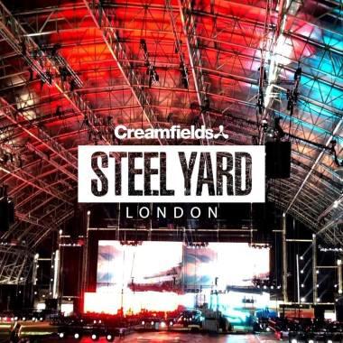 Creamfields news :  Steel Yard London
