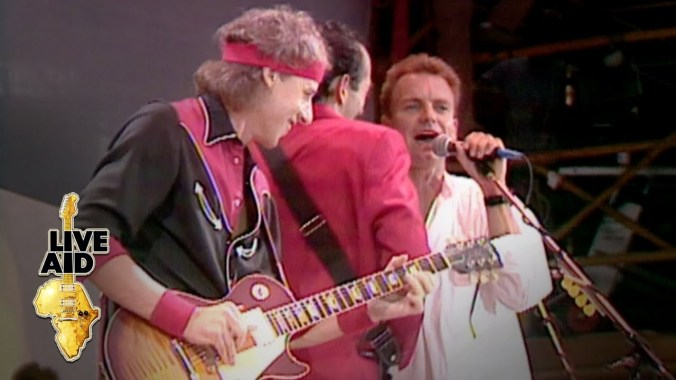 FESTIVAL HIGHLIGHTS: Dire Straits / Sting – Money For Nothing (Live Aid 1985)