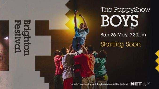 Brighton Festival news: BOYS: What do we feel, what do we show, what do you see? We all have ideas of wh…