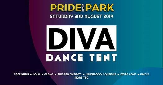 Brighton Pride news: Diva Dance Tent at Pride In The Park