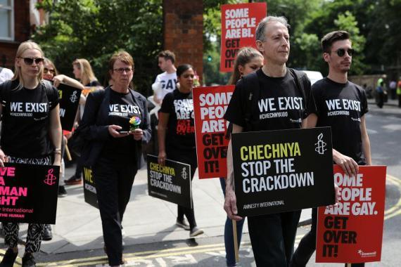 Brighton Pride news: Gay men in Chechnya tortured in renewed anti-gay crackdown