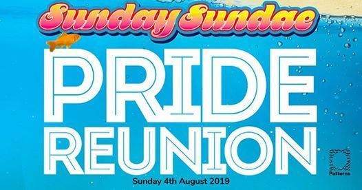 Brighton Pride news: Sunday Sundae Pride Reunion at Patterns