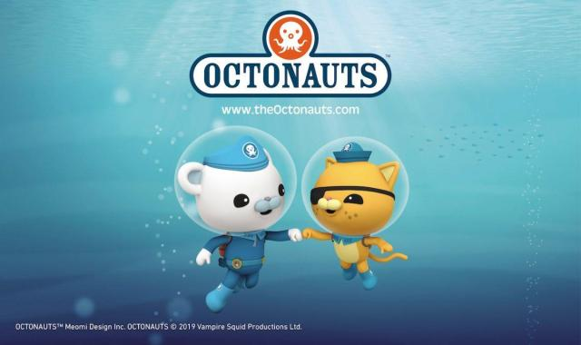 By the Sea news: Captain Barnacles and Kwazii from the Octonauts are venturing down to Dreamland …