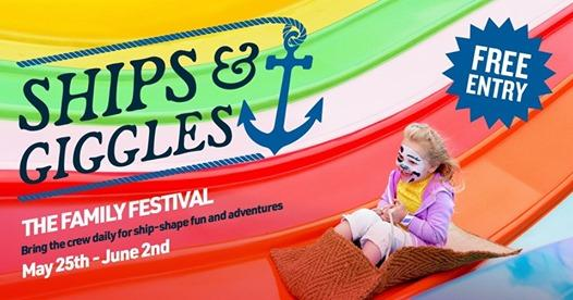 By the Sea news: Ships & Giggles – Half Term Family Festival