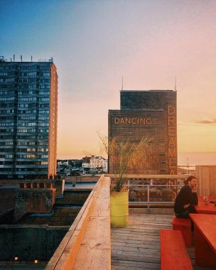 By the Sea news: Summer must be here because Ziggy's rooftop bar reopens for the season this week…
