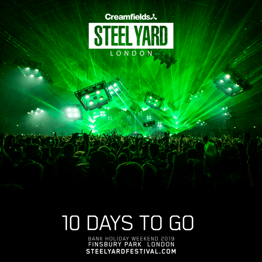 10 DAYS TO GO! #SteelYardLondon...