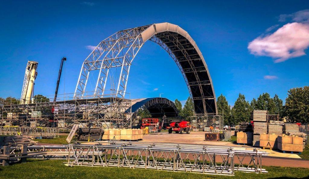 Steel Yard build has begun!...