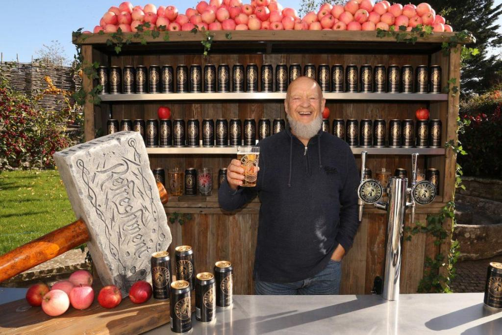 Local company Mallets is to supply its cider - made from Somerset apples fewer t...