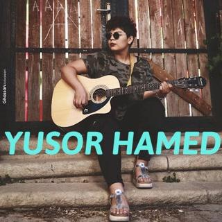 "ANNOUNCING  Yusor Hamed ""I am 'half Gazian'. I would like to return. I dedicate..."