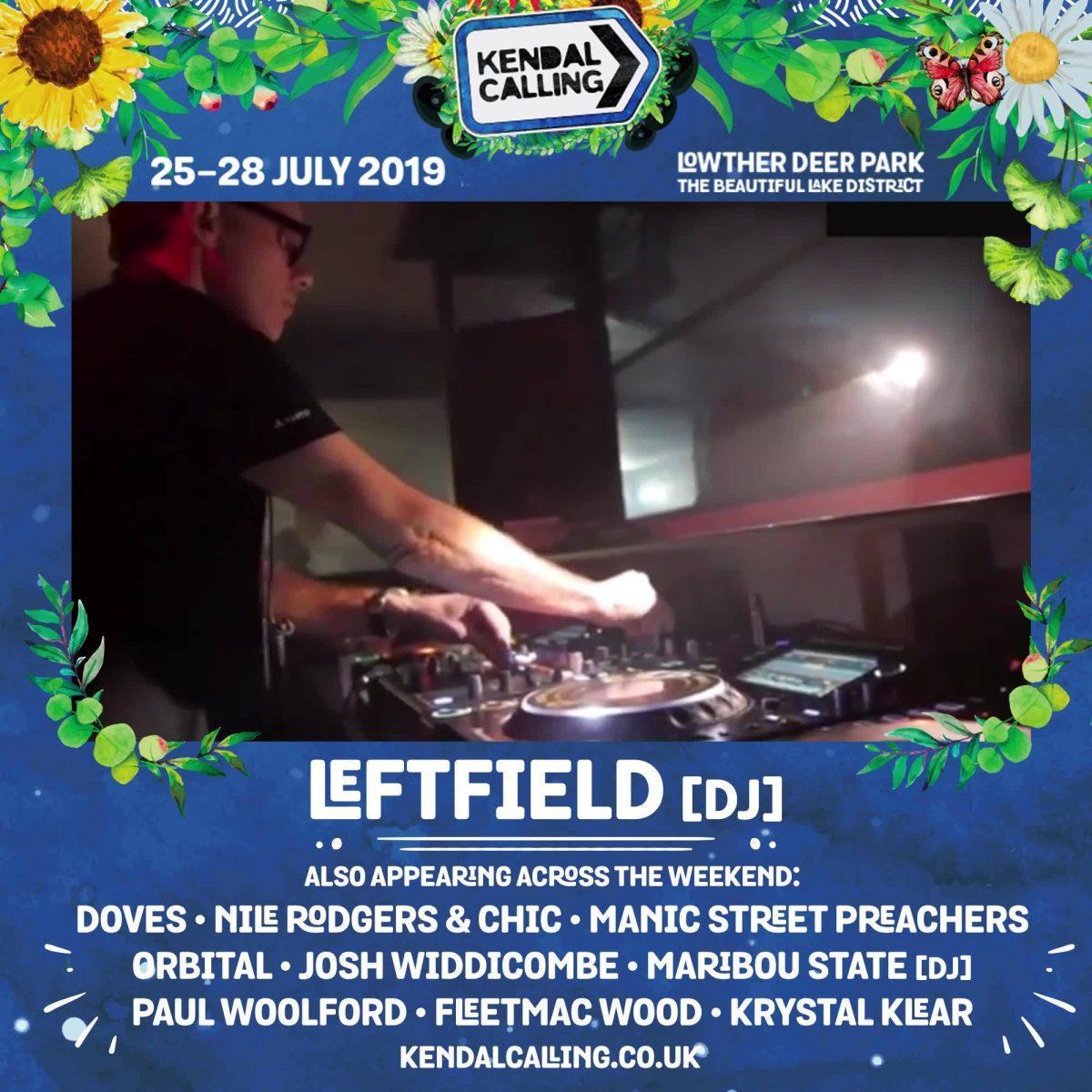 KC19: Leftfield [DJ]
