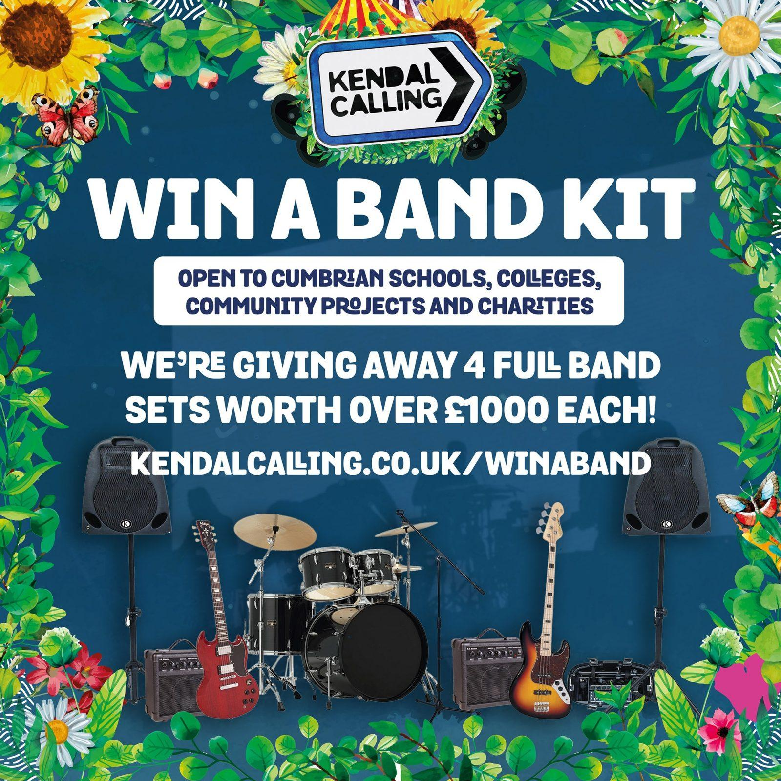Our Win A Band Kit competition is live! We're giving schools, colleges, communit...