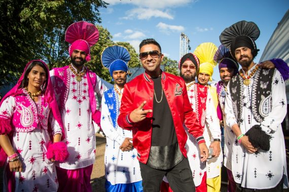 London Mela news: #ThrowbackThursday Jay Sean backstage with these wonderful dancers at last years…