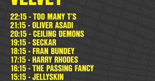 Long Division festival news : Long Division at Velvet