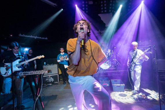 The Great Escape news: Did you catch Sports Team headlining the So Young Magazine stage at The Haunt fo…
