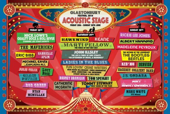 Glastonbury 2019 – all the acts announced so far…