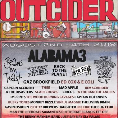 Small festival magic at Outcider Festival, Compton Martin, on August 2nd – 4th, 2019