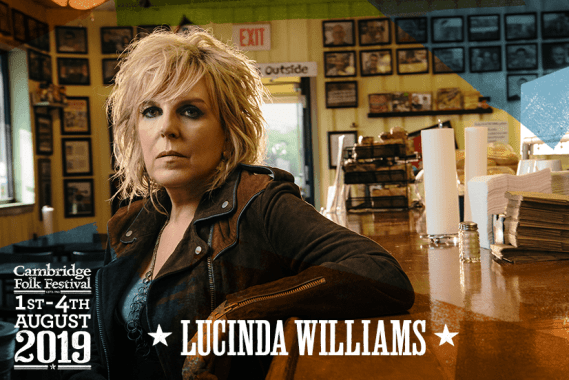 Cambridge Folk Festival news: We can't wait to welcome the superb Lucinda Williams to Stage 1 on Saturday at t…