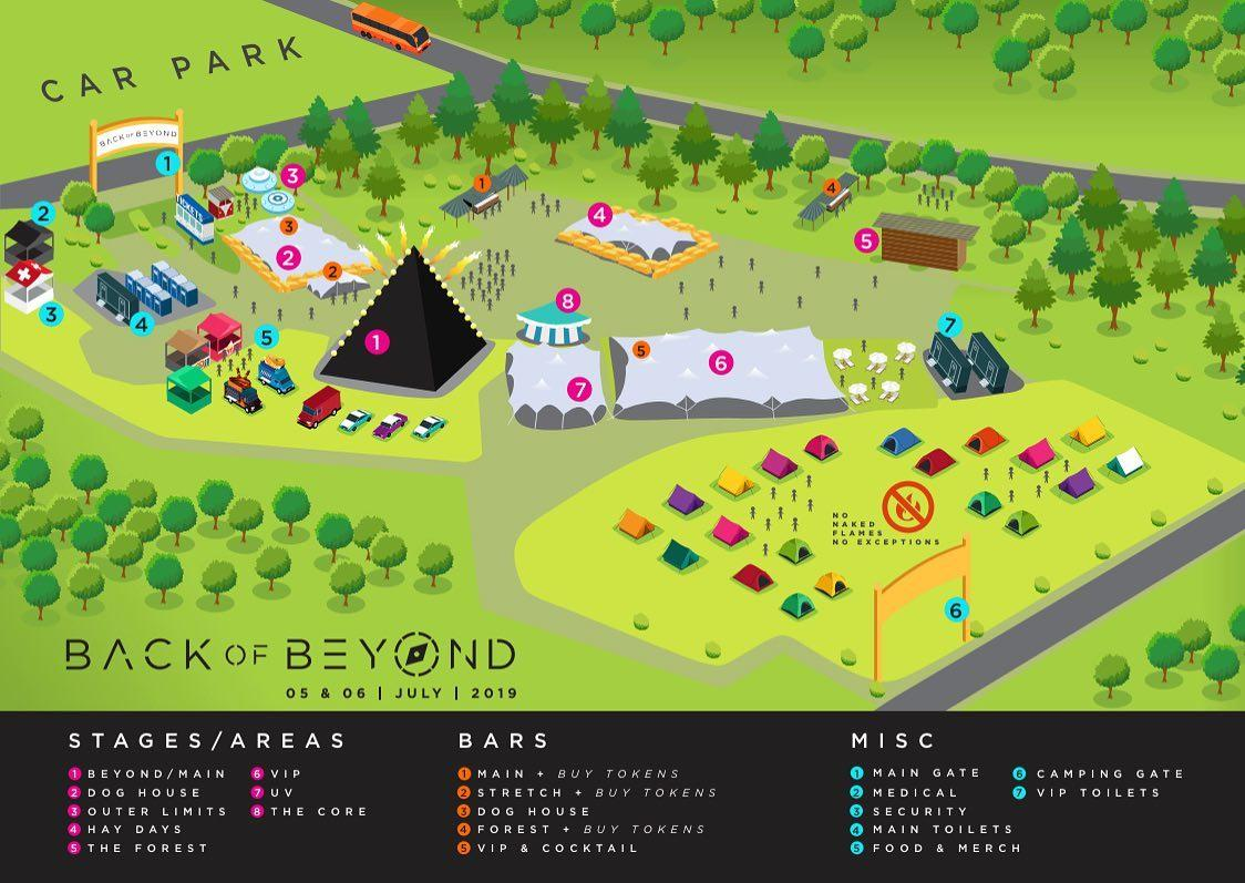 our official map...