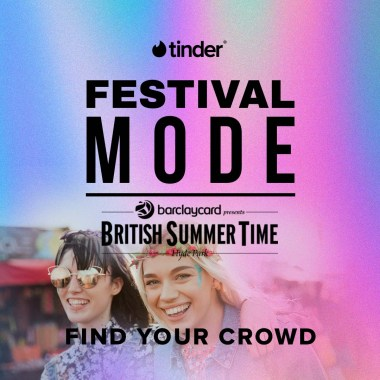 Barclaycard British Summertime news: Tinder are coming to Barclaycard presents BST Hyde Park! Click the link to downl…