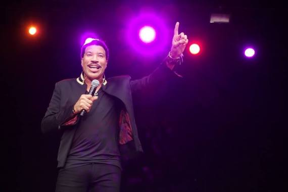 Barclaycard British Summertime news: Wishing Lionel Richie a very happy 70th birthday!