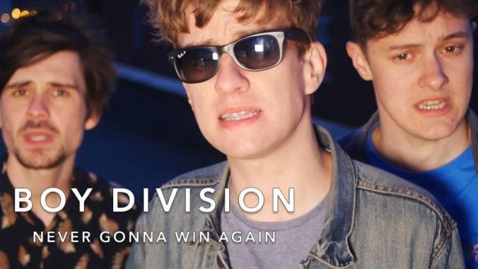 Belladrum Tartan Heart Festival  news: Boy Division – Never Gonna Win Again | Short Stuff | Comedy