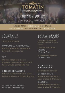 Belladrum Tartan Heart Festival  news: Fab competition from Tomatin Distillery to win some Bella tix…