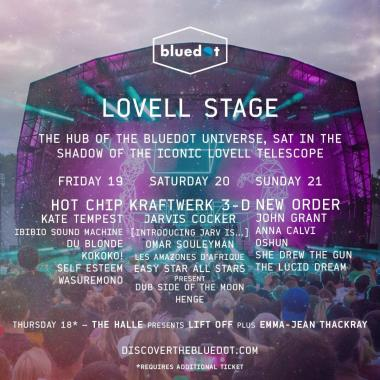 Bluedot Festival news: With t-minus 1 month to go until we launch into the bluedot cosmos, we're t…