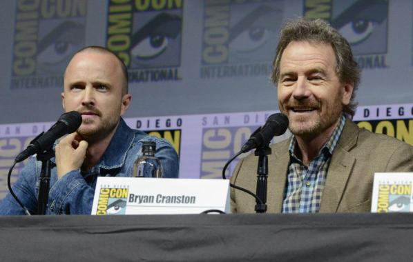NME Festival blog: Bryan Cranston and Aaron Paul are teasing a 'Breaking Bad' reunion