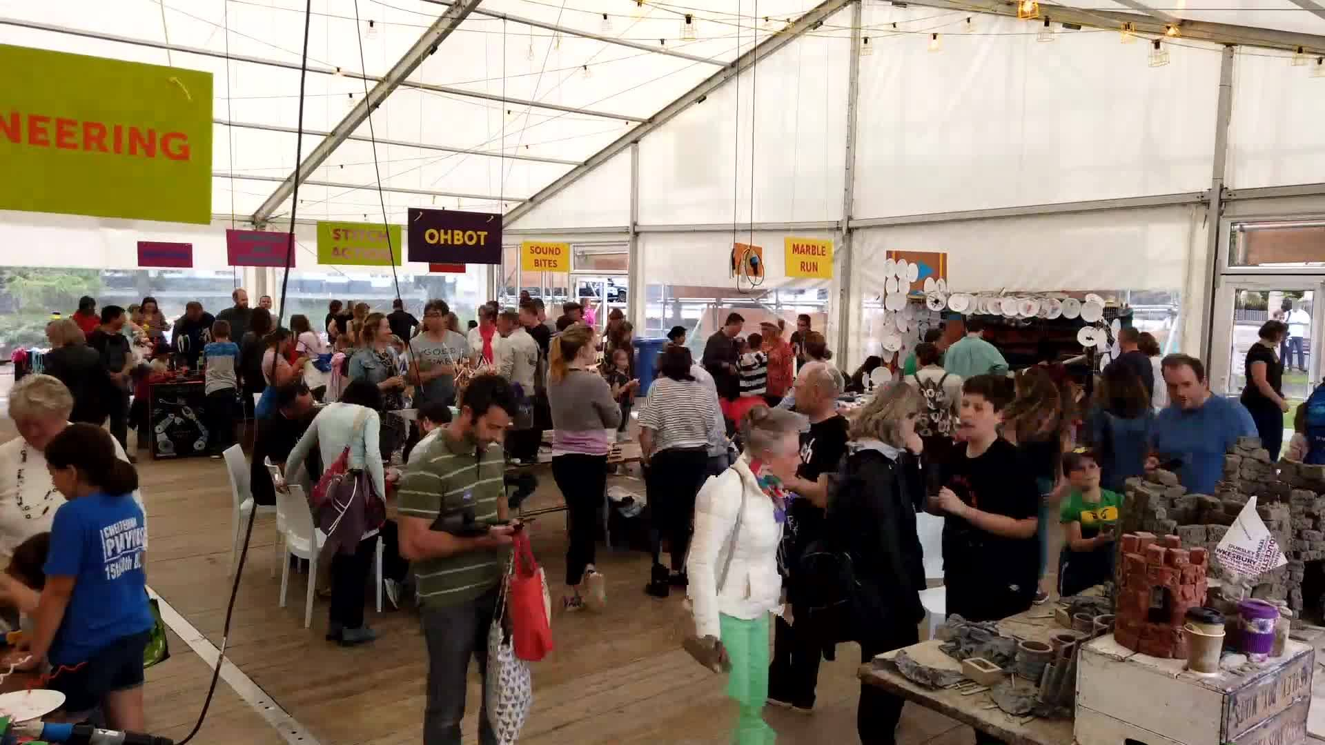 We brought our biggest #cheltscifest ever, thanks to everyone who made the six d...
