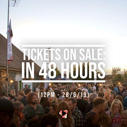 48 hours until our Canterbury Secret Rooftop Party tickets go on sale....