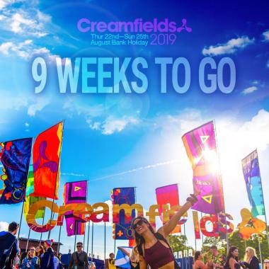 Creamfields news : 9 weeks to go!!…