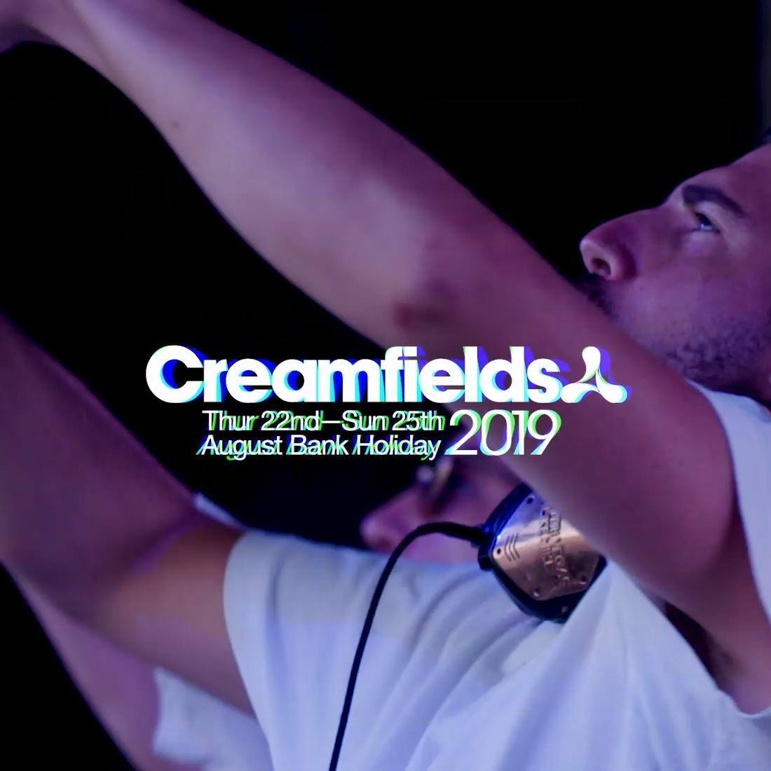 Creamfields news : Creamfields 2019 | Festival Flyer