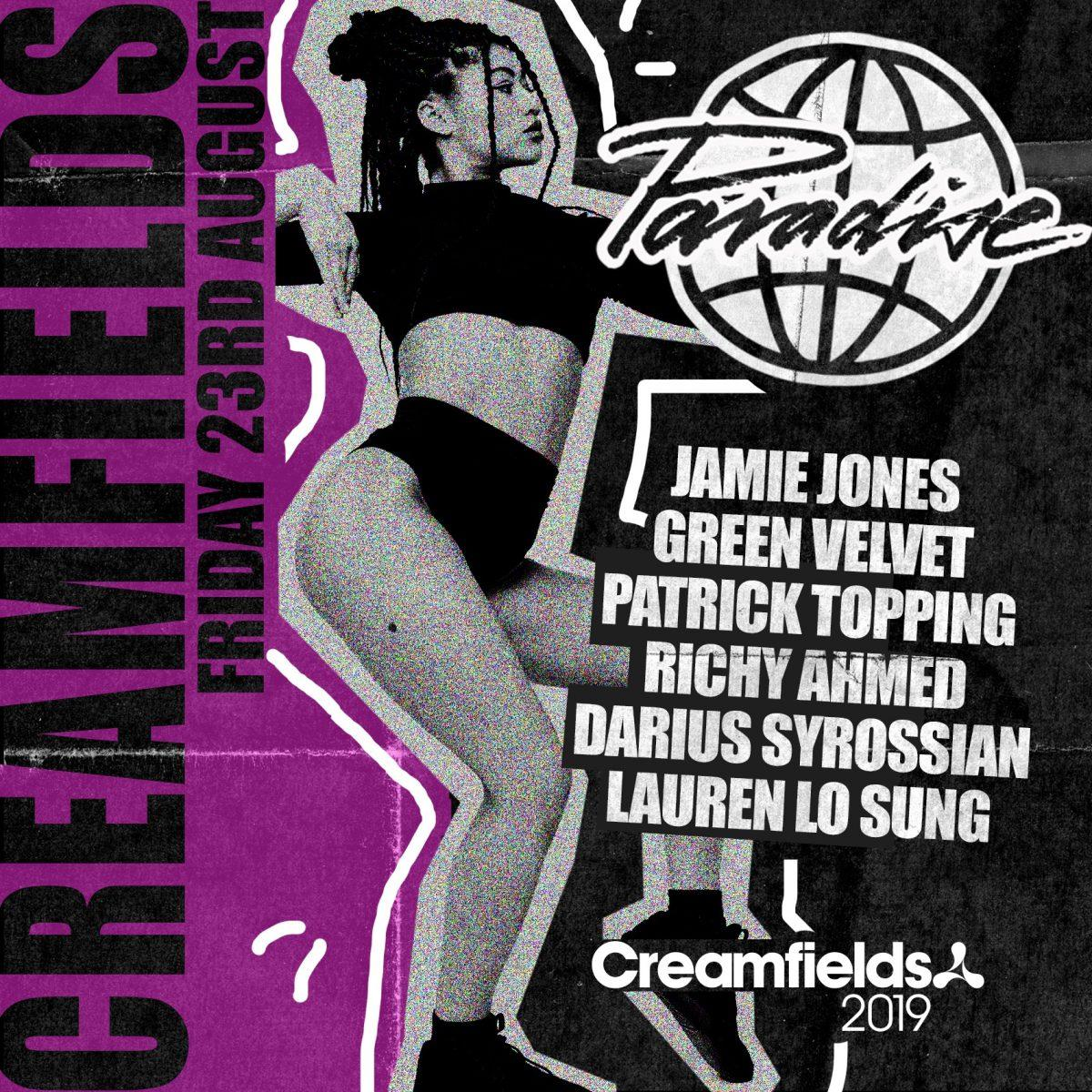 Just announced for #Creamfields2019 joining Jamie Jones  & Patrick Topping i...