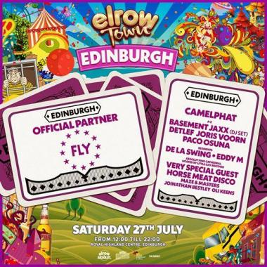 FLY Open Air news : Buzzing to announce that we're teaming up with our friends at elrow to bring el…