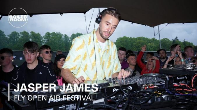FLY Open Air news : Jasper James | Boiler Room x FLY Open Air 2019