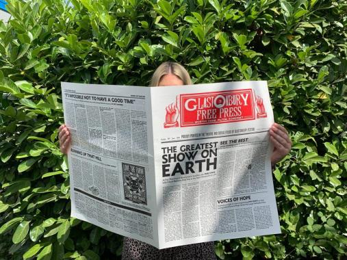 Glastonbury Festival news: Sunday's edition of our Glastonbury Free Press newspaper – featuring exclusive i…