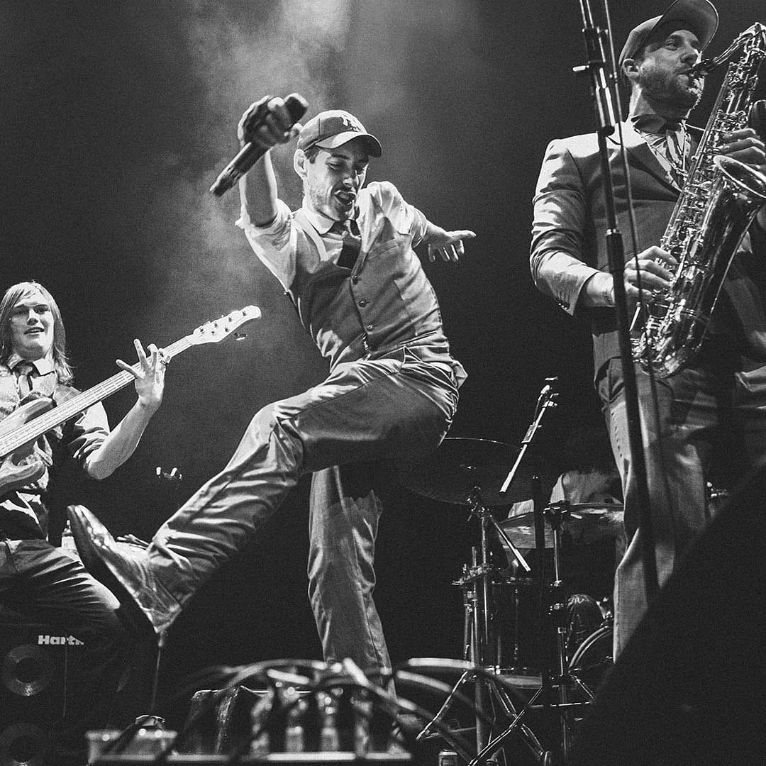 Cut Capers is a nine-piece band from Bristol and combining live hip-hop and swin...