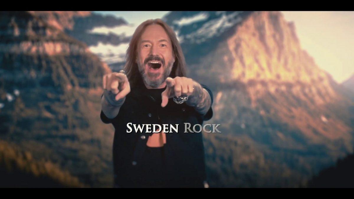 Brand New Hammerfall Video for '(We Make) Sweden Rock'!