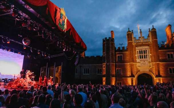 Hampton Court Festival news : Tonight the incredible Michael Ball & Alfie Boe will finish this year's fest…