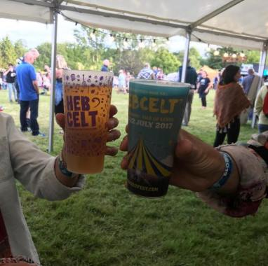 Hebcelt news : Spotted at Beardy Folk Festival this weekend! Not long til we see them at #hebce…