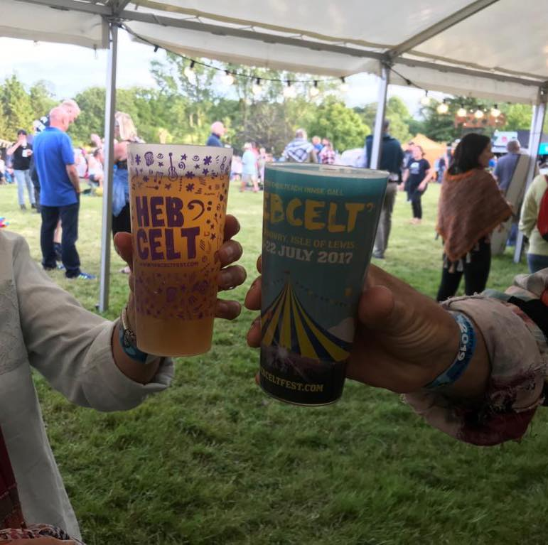 Spotted at Beardy Folk Festival this weekend! Not long til we see them at #hebce...