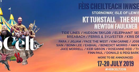 Hebcelt news : Tickets : Hebridean Celtic Festival