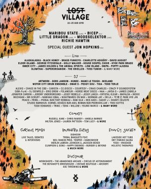 Lost Village news from @lostvillagefest: Feeling lucky?…  We're celebrating even more additions to our lineup with a trul