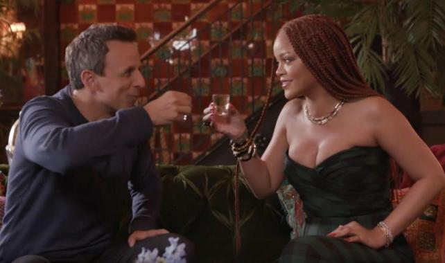 NME Festival blog: Watch Rihanna and Seth Meyers get drunk in new 'Day Drinking' sketch