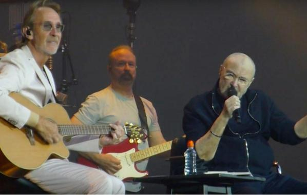NME Festival blog: Watch Genesis' Phil CollinsandMike Rutherford reunite to perform 'Follow You Follow Me'