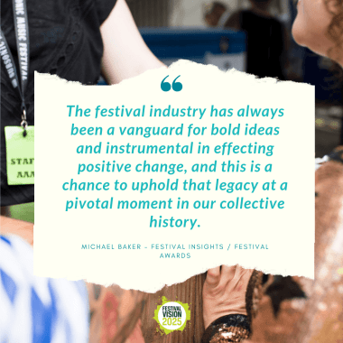 UK Festival Awards news: We have to do more to ensure that #festivals are #sustainable #events and @power…