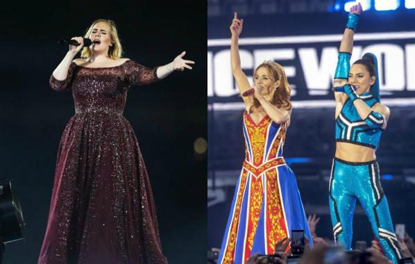 NME Festival blog: Watch Adele have the time of her life at Spice Girls' final comeback show