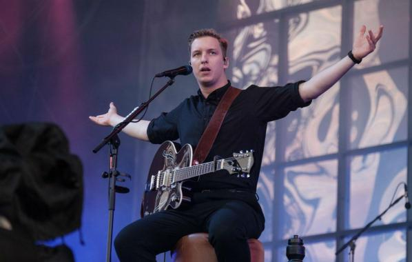NME Festival blog: George Ezra explains why he performed his Isle of Wight festival set while sat on a stool