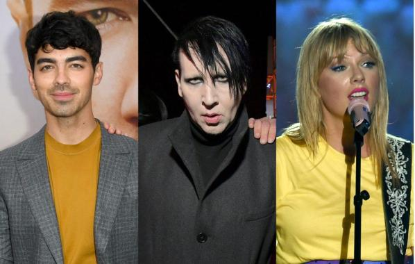 NME Festival blog: Marilyn Manson has been photographed with Taylor Swift and The Jonas Brothers and the internet can't handle it