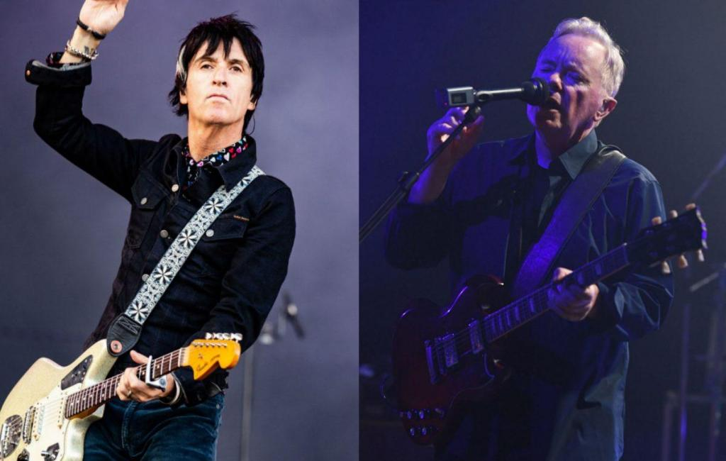 NME Festival blog: Watch Johnny Marr and New Order's Bernard Sumner